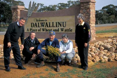 Dalwallinu entry statement